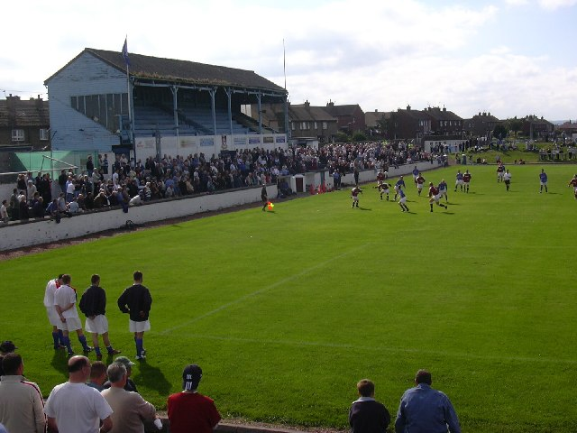 Newtown Park, Bo'ness. Football ground