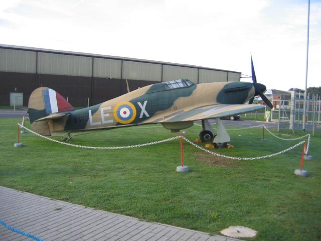 Hawker Hurricane Mk 1, Duxford, Cambs