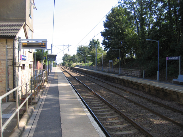 Ashwell & Morden Station, Steeple Morden, Cambs