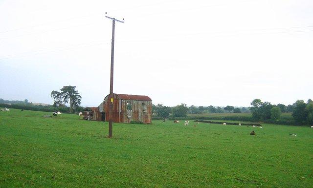 Rusting barn, Orleton.