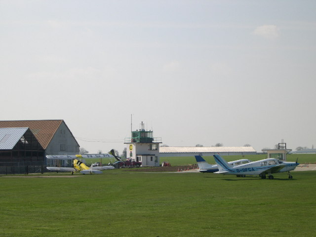 Sywell Aerodrome - Control Tower