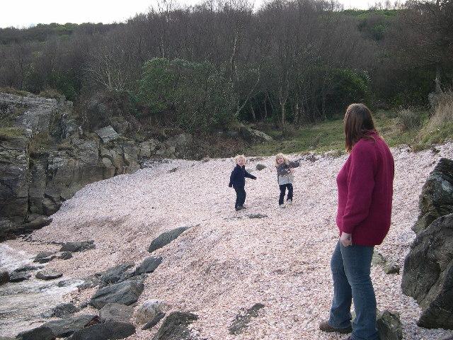 Shell Beach, Tarbert, Kintyre