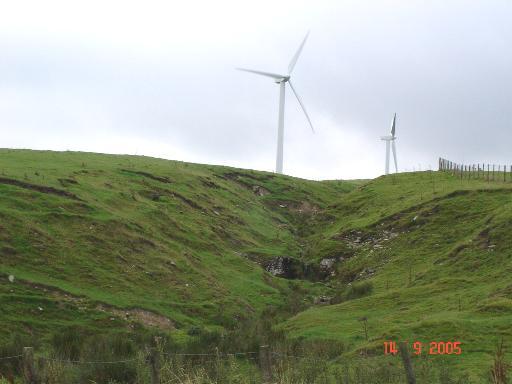 Windpower on Tir Mostyn