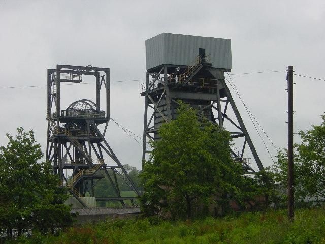 Daw Mill Colliery Shafts
