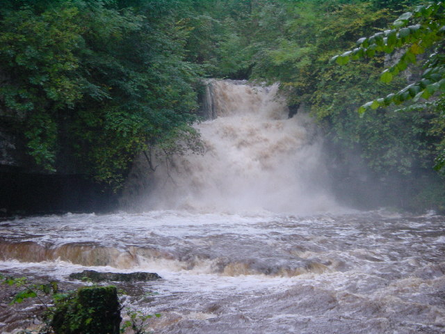 Waterfall in Flood