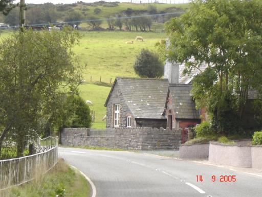 Bylchau village
