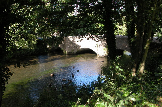 The Sheepwash Bridge in Ashford-in-the-Water