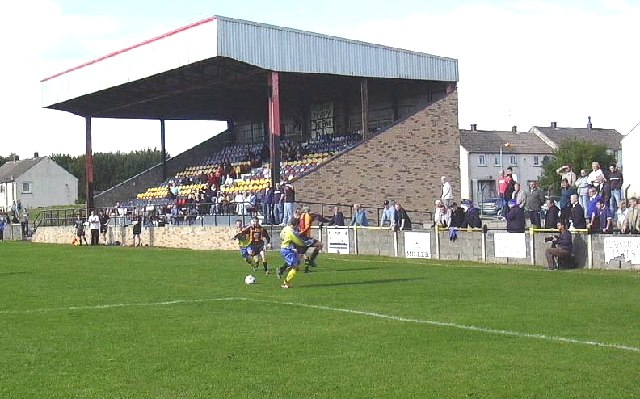 Beechwood Park, Auchinleck. Football ground