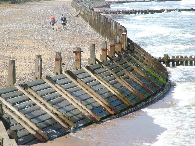 Coastal defences at Overstrand