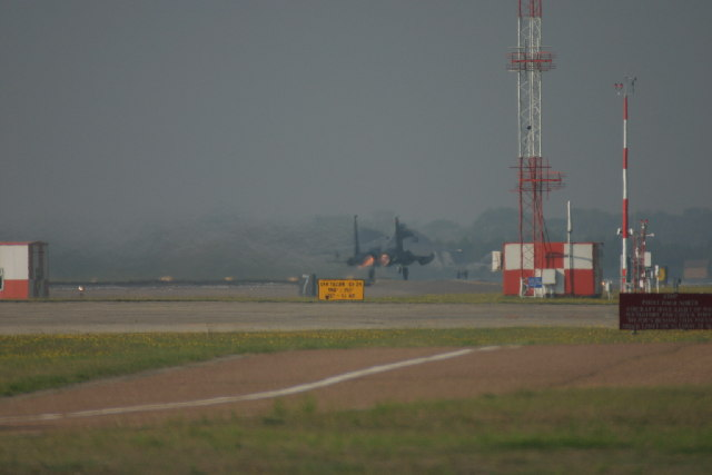 Lakenheath Military airfield