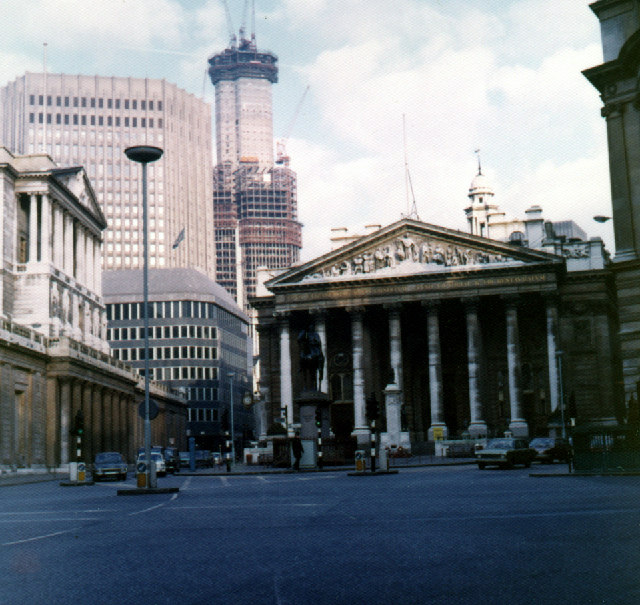 Bank and Royal Exchange c1974