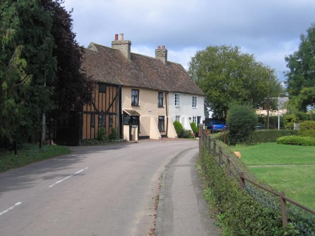 Village scene, Clifton, Beds