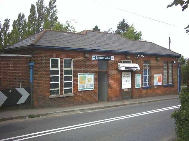Banstead Station, Banstead Road.
