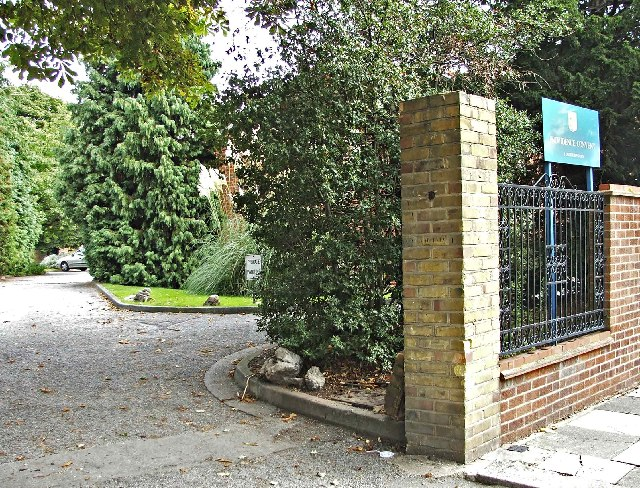 Entrance to Providence Convent, Oakthorpe Road, Palmers Green