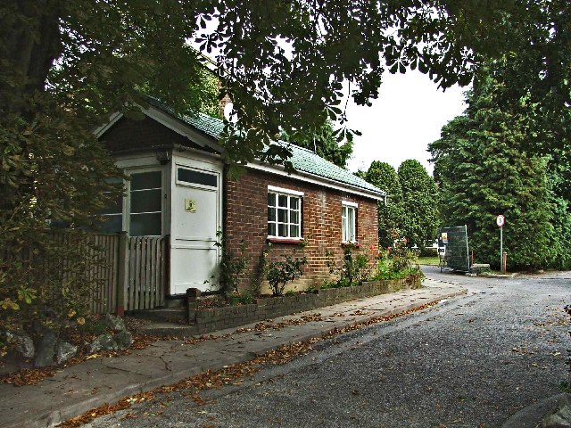 Bungalow at entrance to Providence Convent