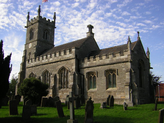 St.Peter & St.Mary's church, Bothamsall, Notts.