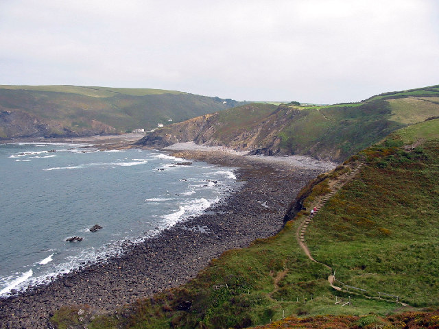 The Coast Path above Tremoutha Haven