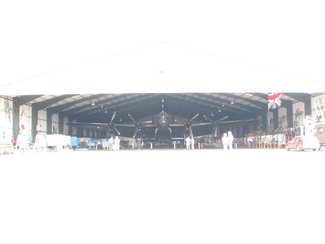 The Lancaster Bomber at East Kirkby Aviation museum