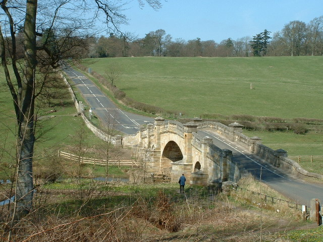 Bridge over the river Wansbeck at Wallington