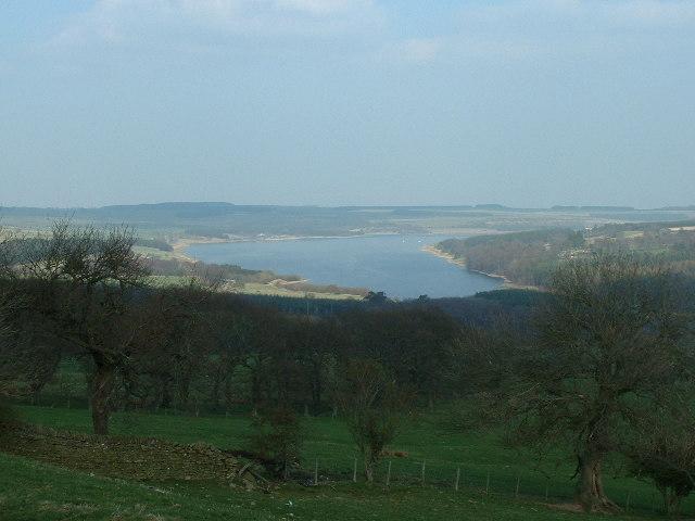 View East towards Derwent Reservoir