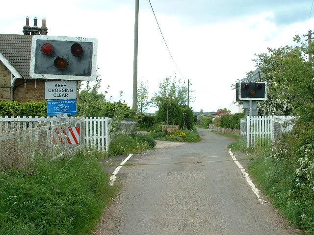 Ham Hall level crossing