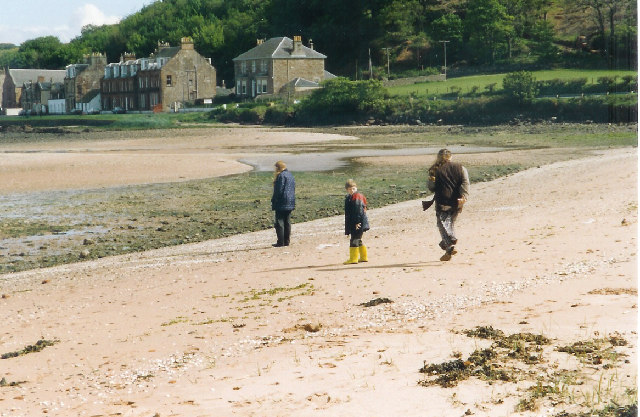 Low tide at Kilchattan Bay