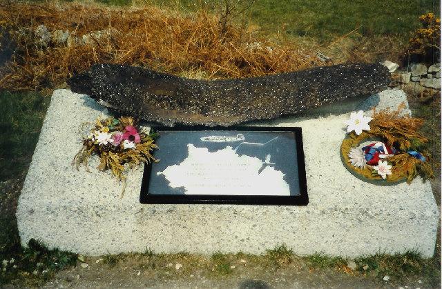 B24 Bomber Crash Memorial