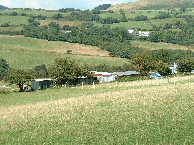 Near Gallt y cwm
