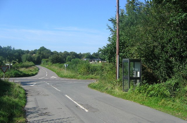 Hill Houses crossroads.