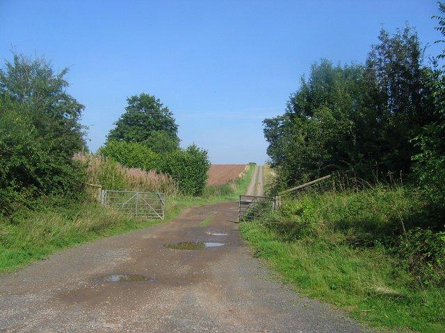Farm road, Stepple.