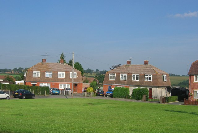 Housing estate, Cleobury Mortimer.