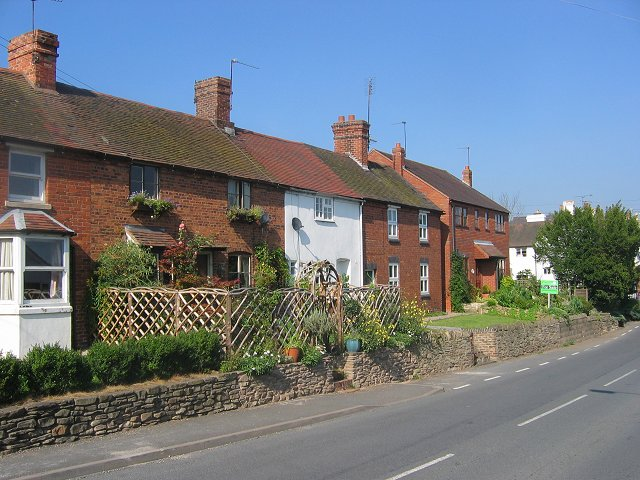 Row of cottages, Cleobury Mortimer.
