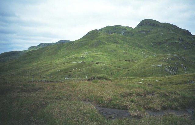 Bogs below Stob a' Choin.