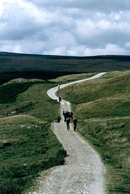 The track to Grimwith Reservoir