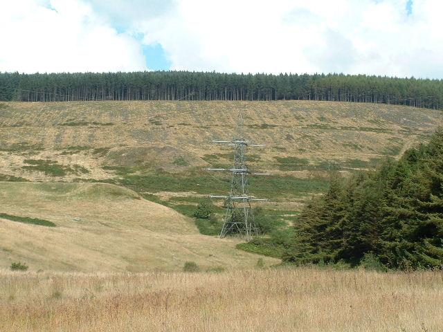 Towards Cae'r Mynydd