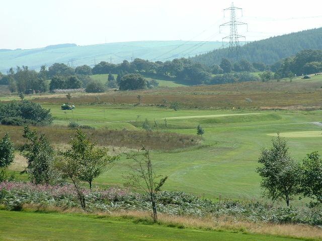 Golf Course near Maesteg
