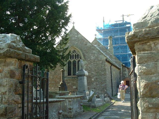 Llangynwyd Church