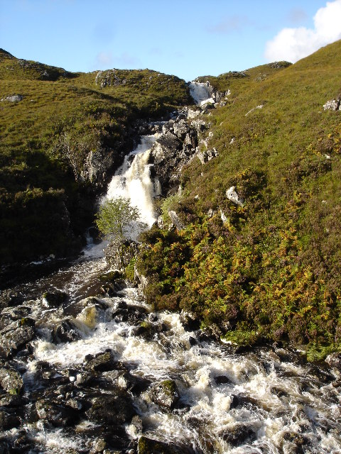 Waterfall on Inverianvie River