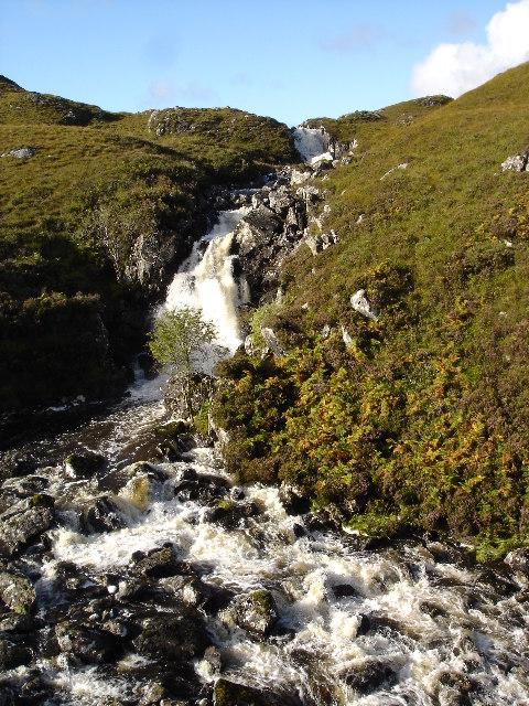 Waterfall on Inverianvie River