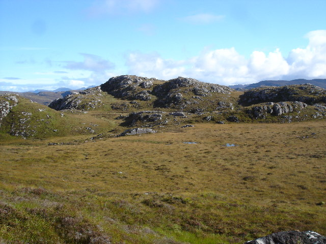 Bog with rocky outcrops