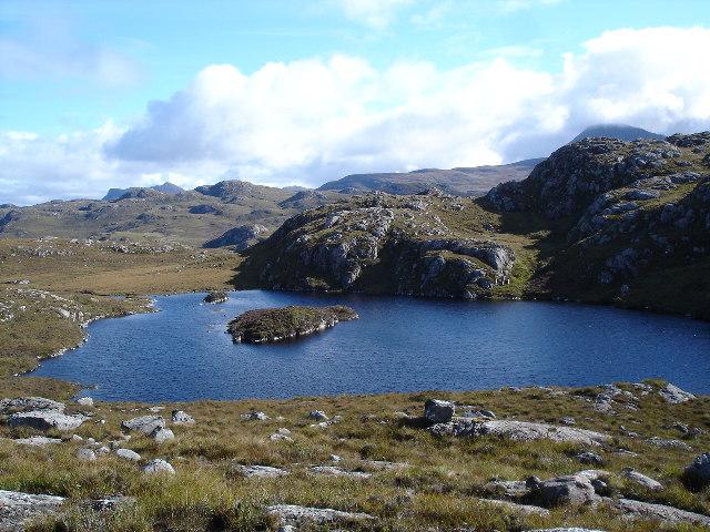 Lochan Dubh nam Breac