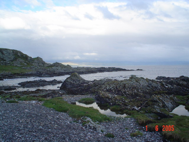 Bay at Port Righ.