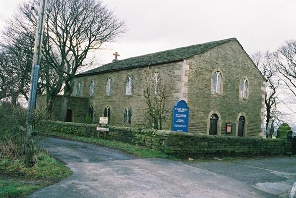 St James' Church, Ashworth, Rochdale, Lancashire