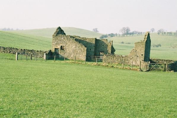 Derelict barn near Barnoldswick, Yorkshire