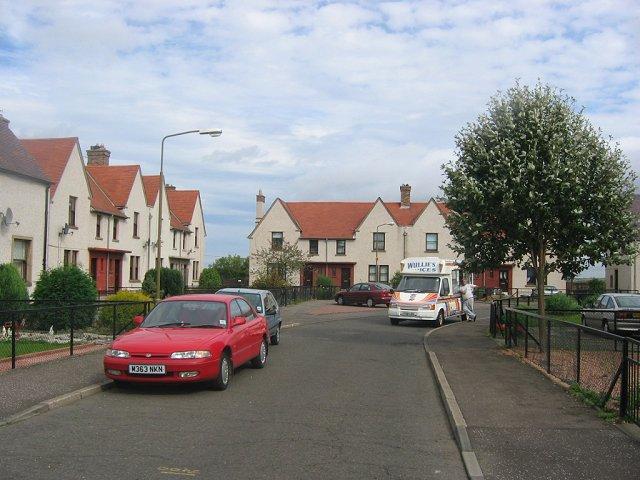 Coalgate Avenue, Tranent.