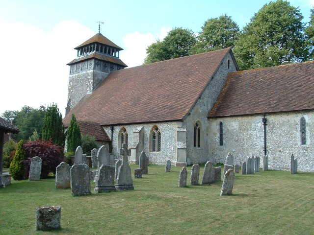 St Andrew's Church, Meonstoke, Hampshire