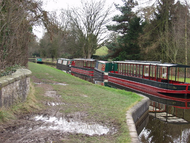 Winter rest on the Llangollen Canal