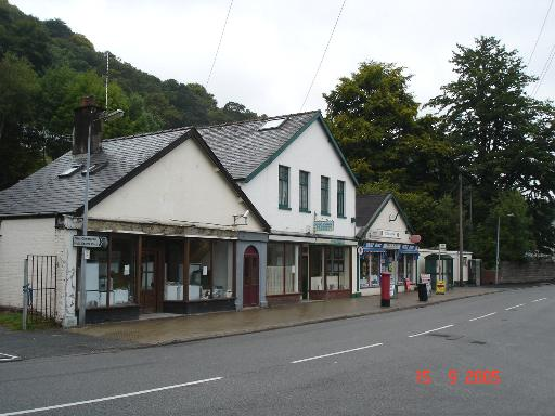 Dolgarrog village shops