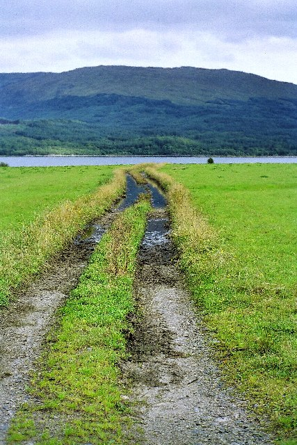 Flooded track, Appin