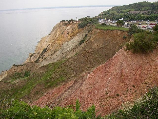 Alum Bay Cliff, Totland